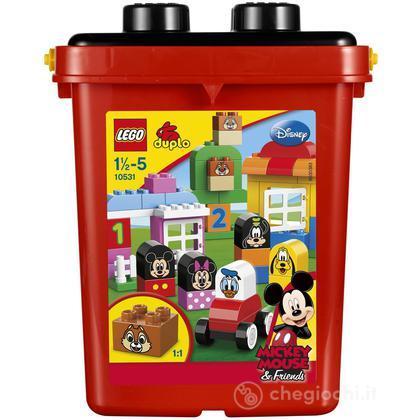 Secchiello Mickey Mouse - Lego Duplo Mattoncini (10531)