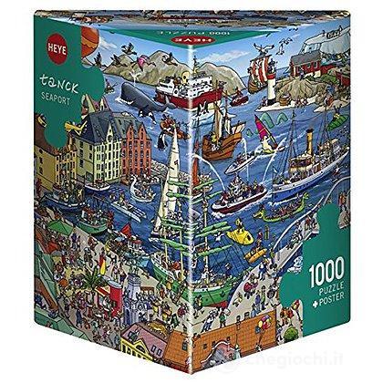 Puzzle 1000 Pezzi Triangolare - Porto di Mare
