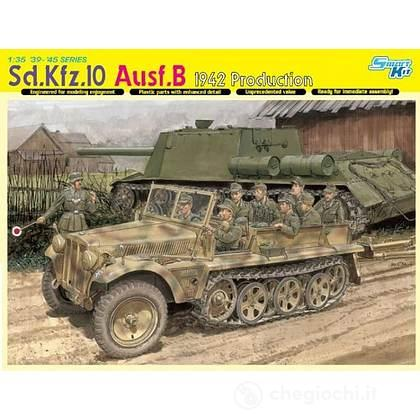 Mezzo blindato SD.KFZ.10 AUSF.B 1942 1/35 (DR6731)