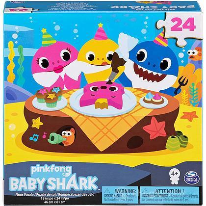 Baby Shark Puzzle Classico Gigante 24 Pz
