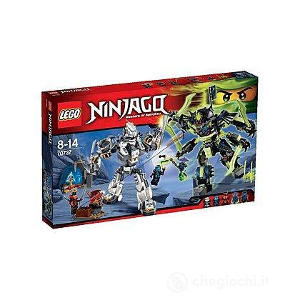 La battaglia dei robo-titani - Lego Ninjago (70737)