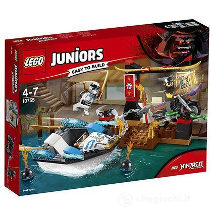 Zane e l'inseguimento della barca Ninja - Lego Juniors (10755)