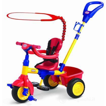 Passeggino e triciclo con timone (9061827)