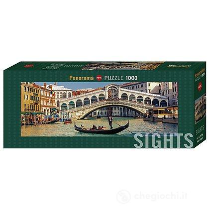 Puzzle 1000 Pezzi Panorama - Ponte di Rialto