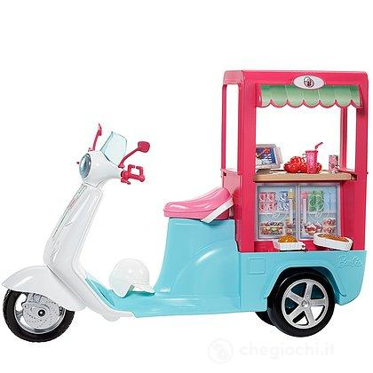 Barbie Scooter Street Food con Accessori (FHR08)