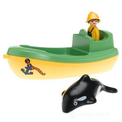 Imbarcazione da pesca balena 1.2.3.   (6739)