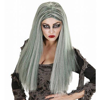Parrucca Strega Zombie Donna - Parrucche - Widmann - Giocattoli ... 5313ad83f977