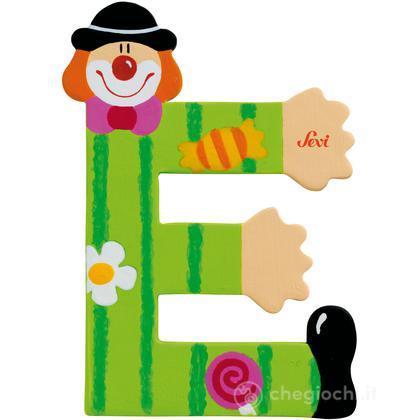 Lettera E Clown
