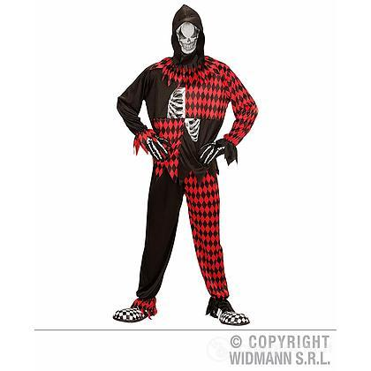 Costume Adulto Evil Jester M