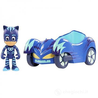 Gattoboy con veicolo PJ Masks – Superpigiamini (PJM03000)