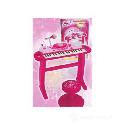 Tastiera Winx con sgabello