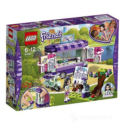 Lo stand dell'arte di Emma - Lego Friends (41332)