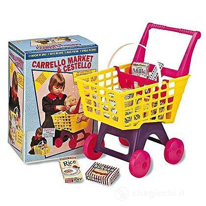 Carrello Market e cestello (2748)