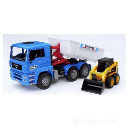 Camion Man ribaltabile con caterpillar (2745)