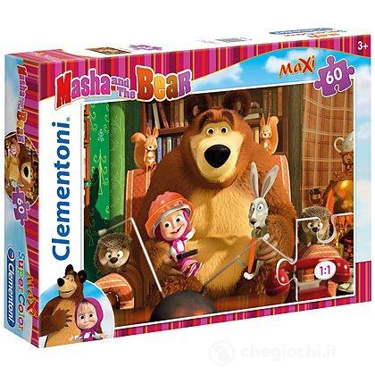 Masha e Orso Maxi Puzzle 60 pezzi (26745)