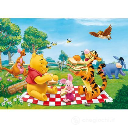 Puzzle 104 pezzi Winnie the Pooh pic nic