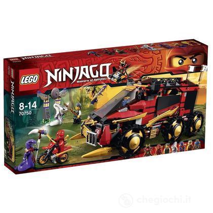 Unità mobile Ninja DB X - Lego Ninjago (70750)