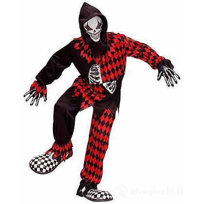 Costume Evil Jester 11-13 anni
