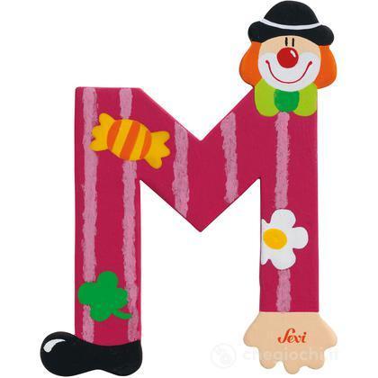 Lettera M Clown