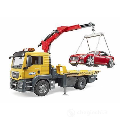 Camion Man TGS con auto (3750)