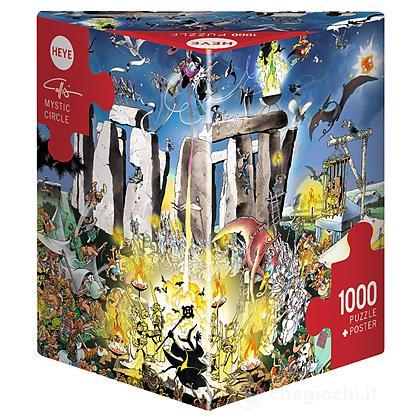 Puzzle 1000 Pezzi Triangolare - Circolo Mistico
