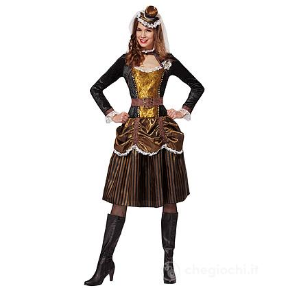 Costume adulto Stemapunk donna S