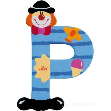 Lettera P Clown