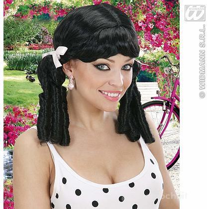 Parrucca Lolita nera