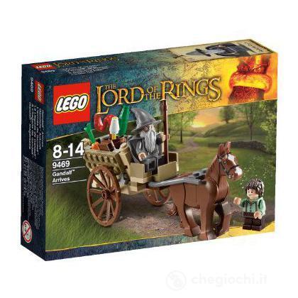 L'arrivo di Gandalf - Lego LofTR/Hobbit (9469)