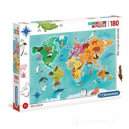 La Mappa Degli Animali 180 pezzi (29753)