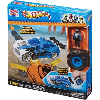 Mega Bloks Hot Wheels Drift Rail Grint (91755U)