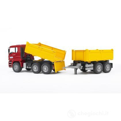 Camion Man ribaltabile con rimorchio (2756)