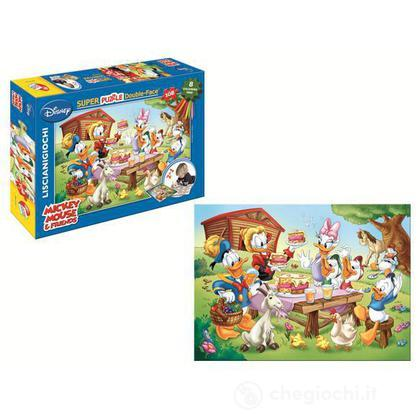 Puzzle color plus super 108 Mickey Club House