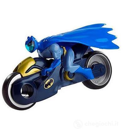 Batman Brave and the Bold con veicolo - Asphalt Assault Batcycle (X1271)