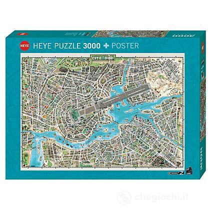 Puzzle 3000 Pezzi - Città del Pop
