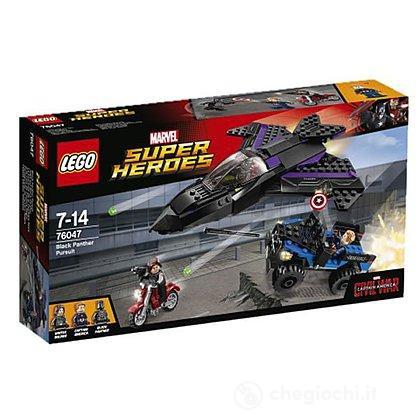 L'inseguimento di Pantera Nera - Lego Super Heroes (76047)