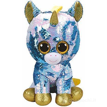 Dazzle Flippables 42 cm Unicorno glitter