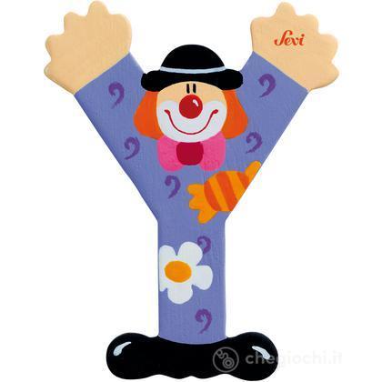 Lettera Y Clown