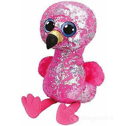 Pinky Flippables 42 cm Fenicottero glitter