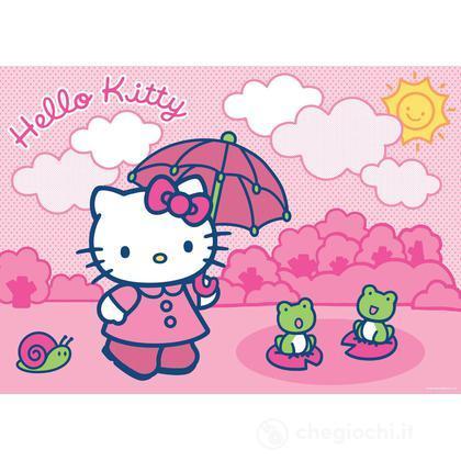Hello Kitty e le ranocchie