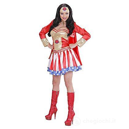 Costume Adulto Super Hero Girl L