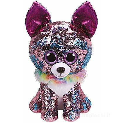 Yappy Flippables 42 cm cane Chihuahua glitter
