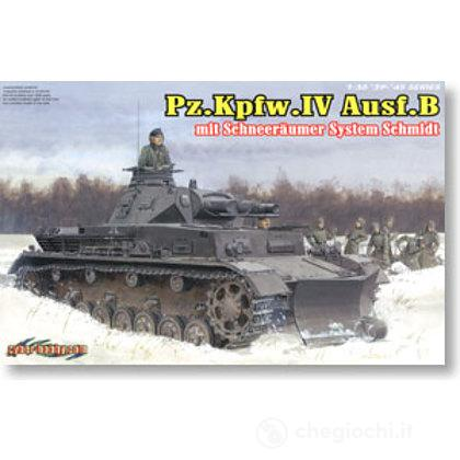 Carro Armato Pz.Kpfw.IV Ausf.B Mit Gelandepflug (6764)