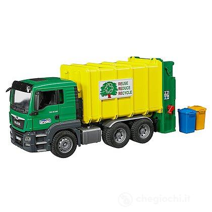 Camion Rifiuti Verde Man TGS (3764)