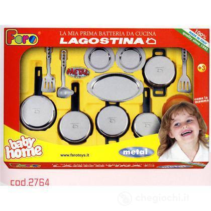 Batteria Pentole Lagostina Gr. Metal