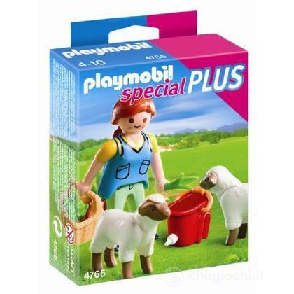 Contadina e pecorelle (4765)