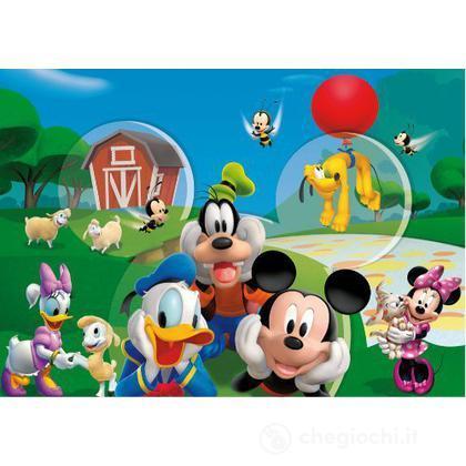 Puzzle 104 pezzi -La Casa di Topolino - The Happy Farm (27765)