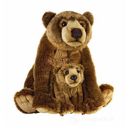 Orso Grizzly con baby cucciolo (770766)