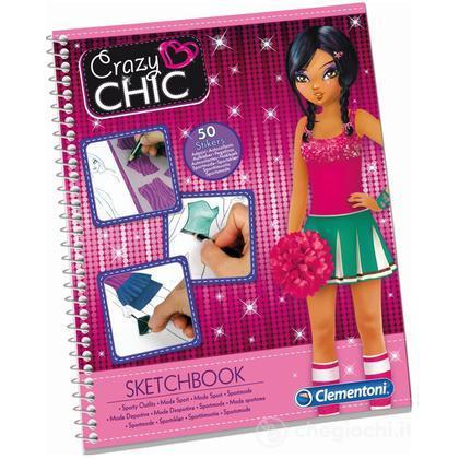 Crazy Chic Fashion Sketchbooks - Sports (15767)