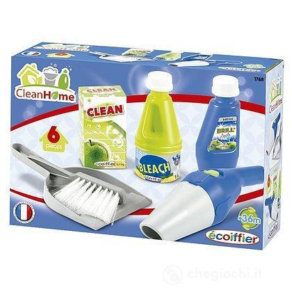 Clean Home Set Per Le Pulizie Della Casa 6 Pz